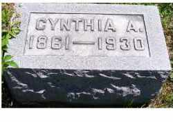 MCCANN, CYNTHIA A. - Adams County, Ohio | CYNTHIA A. MCCANN - Ohio Gravestone Photos
