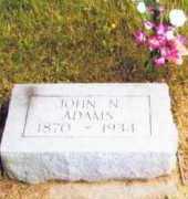 ADAMS, JOHN - Allen County, Ohio | JOHN ADAMS - Ohio Gravestone Photos