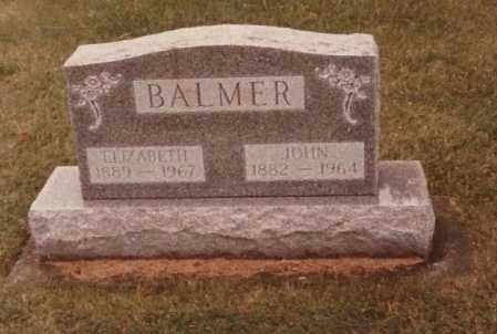 BALMER, ELIZABETH - Allen County, Ohio | ELIZABETH BALMER - Ohio Gravestone Photos