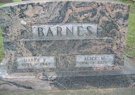 BARNES, HARRY F. - Allen County, Ohio | HARRY F. BARNES - Ohio Gravestone Photos