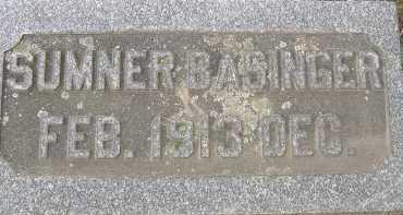 BASINGER, SUMNER - Allen County, Ohio | SUMNER BASINGER - Ohio Gravestone Photos