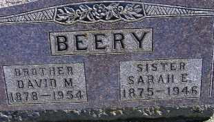 BEERY, SARAH E. - Allen County, Ohio | SARAH E. BEERY - Ohio Gravestone Photos