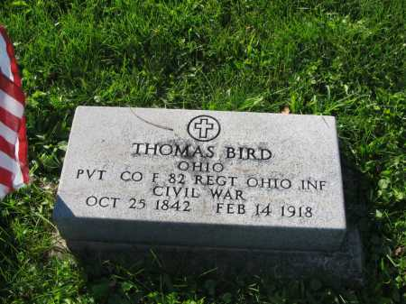 BIRD, THOMAS - Allen County, Ohio | THOMAS BIRD - Ohio Gravestone Photos