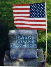 BRYAN, ISAAC - Allen County, Ohio | ISAAC BRYAN - Ohio Gravestone Photos