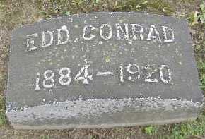 CONRAD, EDD - Allen County, Ohio   EDD CONRAD - Ohio Gravestone Photos