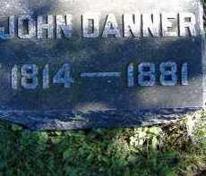 DANNER, JOHN - Allen County, Ohio | JOHN DANNER - Ohio Gravestone Photos
