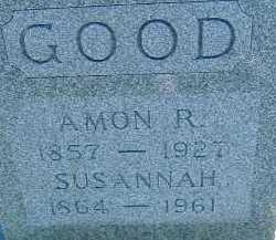 GOOD, SUSANNAH - Allen County, Ohio | SUSANNAH GOOD - Ohio Gravestone Photos