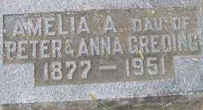 GREDING, AMELIA - Allen County, Ohio | AMELIA GREDING - Ohio Gravestone Photos
