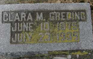 GREDING, CLARA M. - Allen County, Ohio | CLARA M. GREDING - Ohio Gravestone Photos