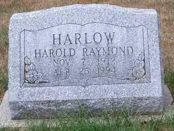 HARLOW, HAROLD RAYMOND - Allen County, Ohio | HAROLD RAYMOND HARLOW - Ohio Gravestone Photos