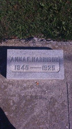HARRISON, ANNA E. - Allen County, Ohio | ANNA E. HARRISON - Ohio Gravestone Photos