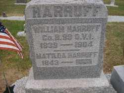 HARRUFF, MATILDA - Allen County, Ohio | MATILDA HARRUFF - Ohio Gravestone Photos