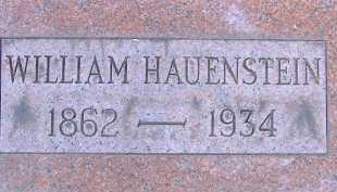HAUENSTEIN, WILLIAM - Allen County, Ohio | WILLIAM HAUENSTEIN - Ohio Gravestone Photos