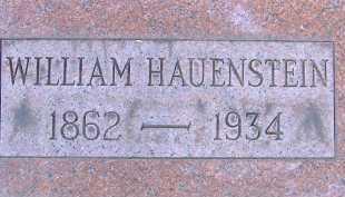 HAUENSTEIN, WILLIAM - Allen County, Ohio | WILLIAM HAUENSTEIN - Ohio Gravestone Photos