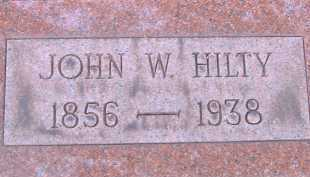 HILTY, JOHN W. - Allen County, Ohio | JOHN W. HILTY - Ohio Gravestone Photos
