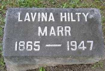 HILTY, LAVINA - Allen County, Ohio | LAVINA HILTY - Ohio Gravestone Photos