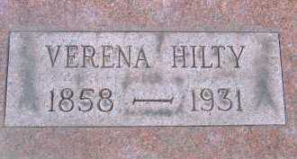 HILTY, VERENA - Allen County, Ohio | VERENA HILTY - Ohio Gravestone Photos