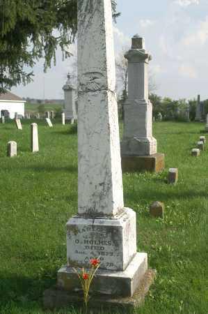 HOLMES, RABECCA - Allen County, Ohio | RABECCA HOLMES - Ohio Gravestone Photos