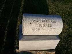 HOOKER, W M GRAHAM - Allen County, Ohio | W M GRAHAM HOOKER - Ohio Gravestone Photos