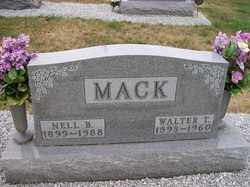 MACK, NELL B. - Allen County, Ohio | NELL B. MACK - Ohio Gravestone Photos