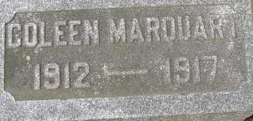 MARQUART, COLEEN - Allen County, Ohio | COLEEN MARQUART - Ohio Gravestone Photos