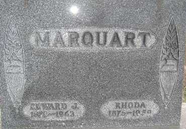 MARQUART, EDWARD J. - Allen County, Ohio | EDWARD J. MARQUART - Ohio Gravestone Photos