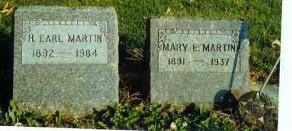 MARTIN, MARY E. - Allen County, Ohio | MARY E. MARTIN - Ohio Gravestone Photos