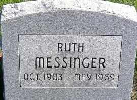 MESSINGER, RUTH - Allen County, Ohio | RUTH MESSINGER - Ohio Gravestone Photos