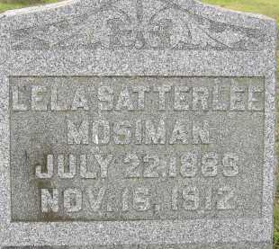 MOSIMAN, LELA - Allen County, Ohio | LELA MOSIMAN - Ohio Gravestone Photos
