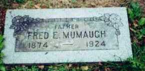 MUMAUGH, FRED - Allen County, Ohio | FRED MUMAUGH - Ohio Gravestone Photos