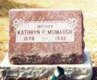 MUMAUGH, KATHRYN - Allen County, Ohio | KATHRYN MUMAUGH - Ohio Gravestone Photos