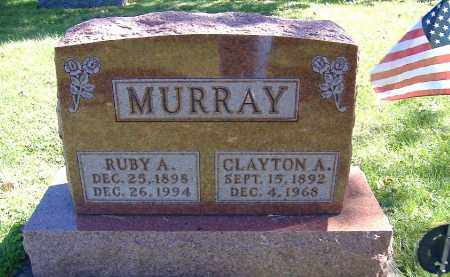 MURRAY, CLAYTON A. - Allen County, Ohio | CLAYTON A. MURRAY - Ohio Gravestone Photos