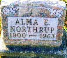 MORRISON NORTHRUP, ALMA - Allen County, Ohio | ALMA MORRISON NORTHRUP - Ohio Gravestone Photos