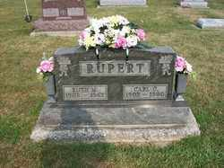 RUPERT, CARL C - Allen County, Ohio | CARL C RUPERT - Ohio Gravestone Photos