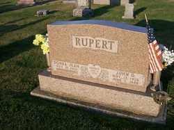 RUPERT, JOHN D, - Allen County, Ohio | JOHN D, RUPERT - Ohio Gravestone Photos