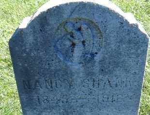SHANK, NANCY - Allen County, Ohio | NANCY SHANK - Ohio Gravestone Photos