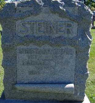 STEINER, CHRISTIAN - Allen County, Ohio | CHRISTIAN STEINER - Ohio Gravestone Photos