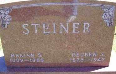 STEINER, MARIAN - Allen County, Ohio | MARIAN STEINER - Ohio Gravestone Photos
