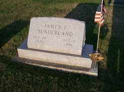 SUNDERLAND, JAMES F. - Allen County, Ohio | JAMES F. SUNDERLAND - Ohio Gravestone Photos