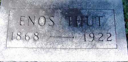 THUT, ENOS - Allen County, Ohio | ENOS THUT - Ohio Gravestone Photos