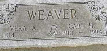 WEAVER, CARL H. - Allen County, Ohio | CARL H. WEAVER - Ohio Gravestone Photos