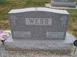 WEBB, CARRIE - Allen County, Ohio | CARRIE WEBB - Ohio Gravestone Photos