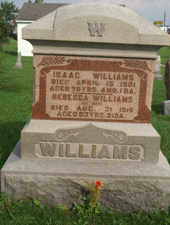 WILLIAMS, ISAAC - Allen County, Ohio | ISAAC WILLIAMS - Ohio Gravestone Photos