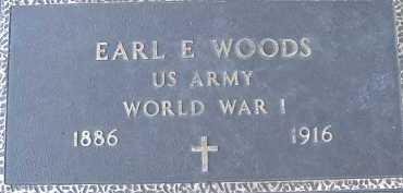 WOODS, EARL E. - Allen County, Ohio | EARL E. WOODS - Ohio Gravestone Photos