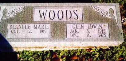 FOGT WOODS, BLANCHE - Allen County, Ohio | BLANCHE FOGT WOODS - Ohio Gravestone Photos