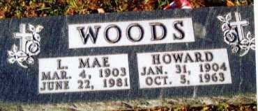 WOODS, L. MAE - Allen County, Ohio | L. MAE WOODS - Ohio Gravestone Photos