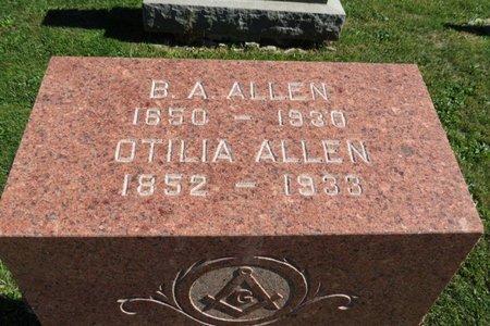 ALLEN, B. A. - Ashland County, Ohio | B. A. ALLEN - Ohio Gravestone Photos
