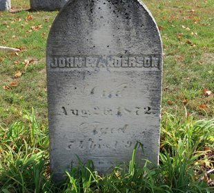 ANDERSON, JOHN P. - Ashland County, Ohio | JOHN P. ANDERSON - Ohio Gravestone Photos