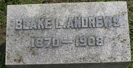 ANDREWS, BLAKE L. - Ashland County, Ohio | BLAKE L. ANDREWS - Ohio Gravestone Photos