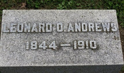 ANDREWS, LEONARD O. - Ashland County, Ohio | LEONARD O. ANDREWS - Ohio Gravestone Photos